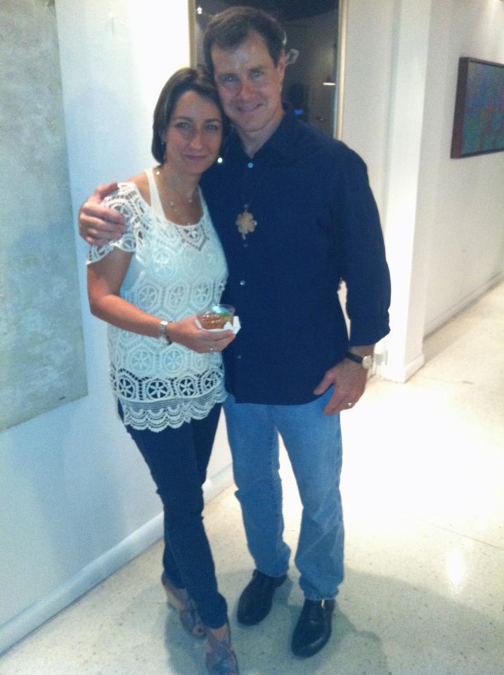 Matt Malone & Wife Joan Rodriguez Malone - Owners of Miami Club Rum