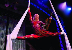 Janice Martin Performs on Showboat Branson Belle