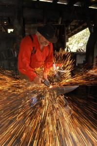 A Silver Dollar City Blacksmith